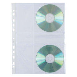 Avery CD Punched Pocket 10 pack