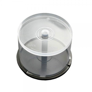 Clear Plastic Cake Tub (Holds 50 Discs) x 100