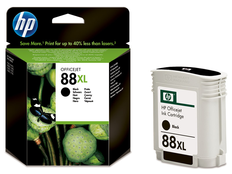 HP 88XL Black Ink - HP88 C9396AE