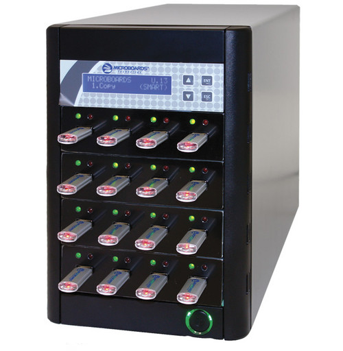 Microboards Copywriter Flash USB Duplication Tower 1 to 15