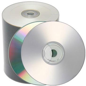 TDK CD-R Inkjet Printable Silver Clear (700Mb/80Min) 100 Discs
