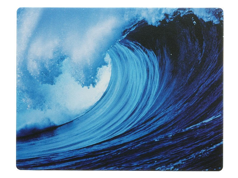 Fellowes Natural Collection Mouse Mat Pad Waves 58713