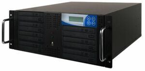 "Thunder 1:8 duplicator with 7 DVD/CD-writer for 19"" rack mount"