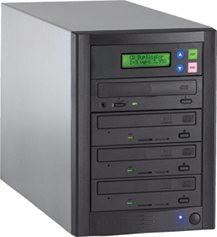 1 to 3 CD / DVD Duplicator - Whirlwind Tower